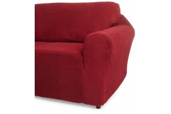 (Burgundy) - Classic Slipcovers 30-110cm Chair Cover, Burgundy