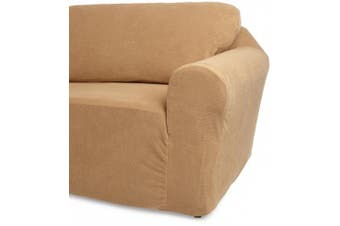 (Cappuccino) - Classic Slipcovers 30-110cm Chair Cover, Cappuccino