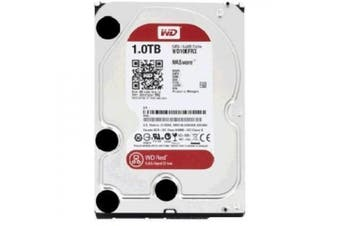 "WD 1TB Red 3.5"" SATA3 5400RPM 64M Hard Drive. Designed and tested for RAID environments 1-8 Bay NAS,"