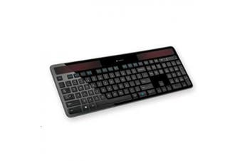 LOGITECH K750R Wireless Solar Keyboard The solar-powered, wireless keyboard that makes battery