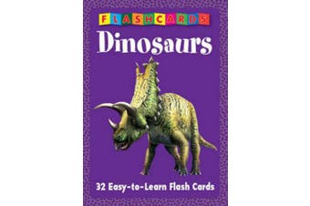 My First Flash Cards - Dinosaurs
