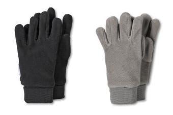 (4, Black - Schwarz (schwarz 590)) - Sterntaler Girl's Fingerhandschuh Gloves