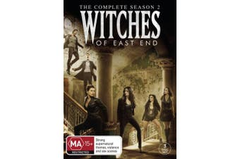 The Witches of East End Season 2  [3 Discs] [Region 4]