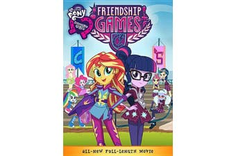 My Little Pony: Equestria Girls Friendship Games (DVD) [Region 1]