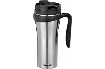 (470ml, Metallic) - Stainless Steel Paige Travel Mug 470ml