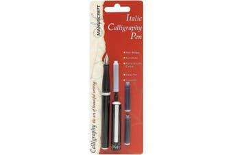 (1, Black) - Manuscript Pen Manuscript Italic Calligraphy Set