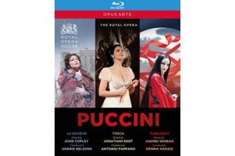 La Bohéme/Tosca/Turandot: Royal Opera House [Region B] [Blu-ray]