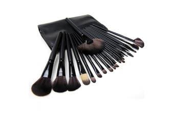 Youngman Professional Makeup Brush Set 24 Pcs Makeup Brush Set with Case