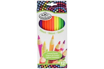 (1 Pack) - Neon Coloured Pencils