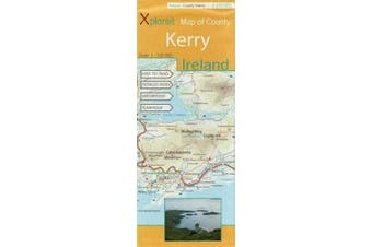 Xploreit Map of County Kerry, Ireland (Xploreit County Series)