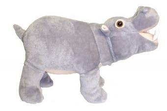 36cm Standing Farting Hippo Plush Stuffed Animal Toy