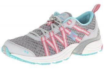 (5 B(M) US, Silver Cloud/Cool Mist Grey/Winter Blue/Pink) - RYKA Women's Hydro Sport Water Shoe