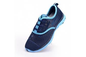(8.5 B(M) US, Gray) - Aleader Women's Quick Drying Aqua Water Shoes