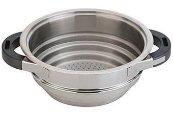 Berghoff Stainless Steel Virgo Steamer Insert for Pans, Silver