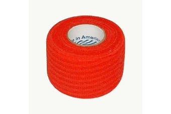 (Red (1.5 in. x 5 yds.)) - Jaybird & Mais 6000 Jayco Co-Adhesive Grip Tape: 2.5cm - 1.3cm . x 4.6m (Red)