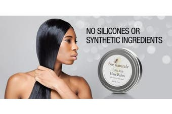 Ultra Rich Hair Balm - For Coarse, Curly and Dry Hair - Conditions and Shines with No Silicone Or Synthetic Ingredients - Leaves No Sticky Build Up In Hair - 45ml