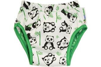 (Small, Playful Panda) - Best Bottom Training Pants, Playful Panda, Small