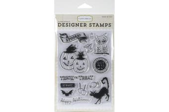Carta Bella Paper Company Trick or Treat 4 x 6 Stamp Set