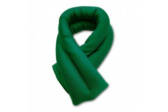 (green 2 lines) - Sunny Bay Extra Long Ice Wrap for Neck and Shoulder, Microwavable, Portable, Reusable, Hot and Cold (green 2 lines)