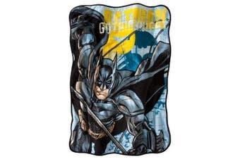 Batman Super Plush Throw 120cm X 150cm