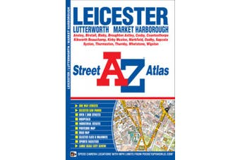 Leicester A-Z Street Atlas (Town and City Maps & Atlases) (Town and City Maps & Atlases)