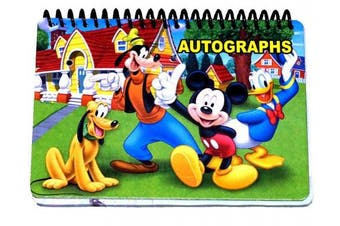 Disney Mickey and the Gang Autograph Book