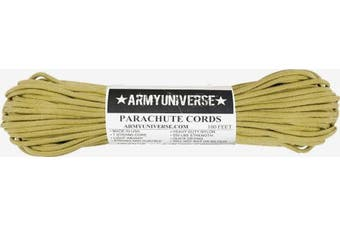 (30m, Gold) - Nylon Military Paracord 250kg Type III 7 Strand Utility Cord Rope 30m