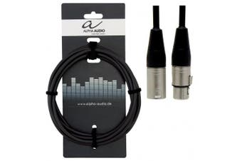 Alpha Audio 190660 6 m XLR (f) to XLR (m) Pro Line Speaker Cable