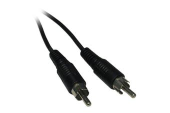 10m Single RCA / Phono Male to Male RCA Phono Audio Video AV Cable Lead Wire