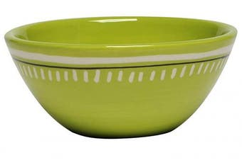 (Lime Green) - Thompson & Elm M. Bagwell Colours Ceramic Whatever Bowls (Set of 2), Lime Green