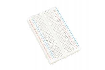 Qunqi 400 tie point Experiment Mini Breadboard,5.5×8.2×0.85cm