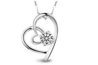 (no; 21) - findout ladies . element silver amethyst heart dolphin Penguin cat pendant necklace ,for women girls,