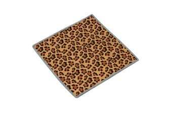 (Leopard) - Carson Leopard Pattern Double Sided Microfibre Cleaning Cloth