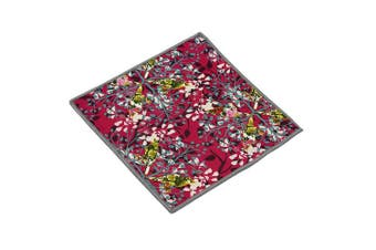(Wild Flower) - Carson Wild Flower Pattern Double Sided Microfibre Cleaning Cloth
