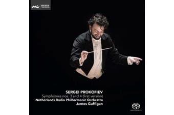 Sergei Prokofiev: Symphonies Nos. 3 and 4 (first version)