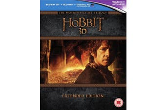 The Hobbit: Trilogy - Extended Edition [Region B] [Blu-ray]