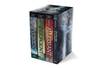 Divergent Series Set: Divergent, Insurgent, Allegiant, Four (Divergent)
