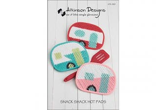 Atkinson Design ATK180 Snack Shack Hot Pads Ptrn