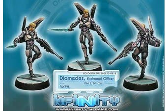 Diomedes Ekdromoi Officer (1) Aleph Infinity Corvus Belli
