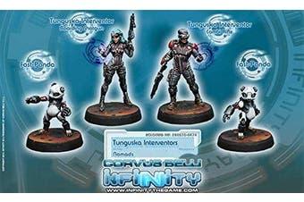 Nomad Tunguska Interventors Miniatures Corvus Belli