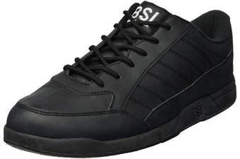 (Size 9.5, Black) - BSI Men's Basic #521 Bowling Shoes