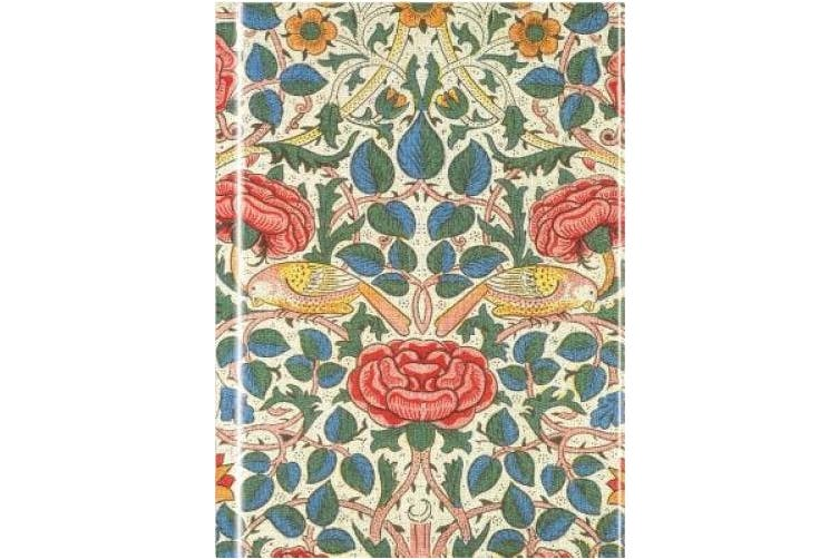 William Morris: Rose (Foiled Journal) (Flame Tree Notebooks)