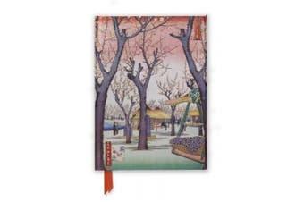 Hiroshige: Plum Garden (Foiled Journal) (Flame Tree Notebooks)
