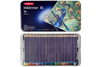 (36 Tin) - Derwent Inktense Watercolour Pencils Tin (Set of 36)