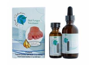 Perfect Nail Solutions Nail Fungus 2-step Treatments