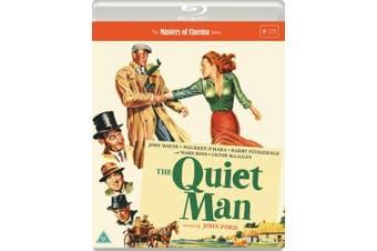 The Quiet Man - The Masters of Cinema Series [Region B] [Blu-ray]