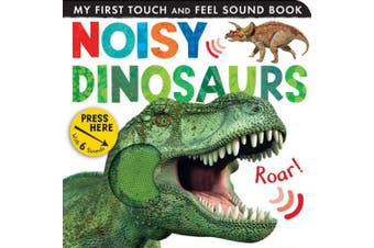 Noisy Dinosaurs (My First Touch and Feel Sound Book) [Board book]