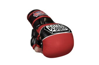 (Large, Red) - Combat Sports Max Strike MMA Training Gloves
