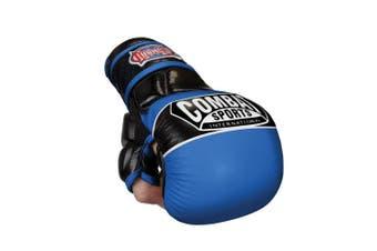(Regular, Blue) - Combat Sports Max Strike MMA Training Gloves