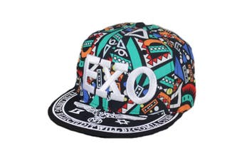 Canvas Baseball Hat EXO Fashionable Hip-Pop Hat Summer Sun Cap Green